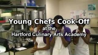 Young Chefs Cook-Off at the Hartford Culinary Arts Academy