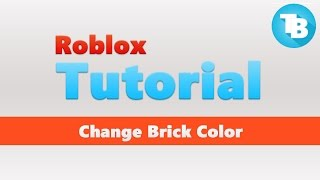 Roblox | How to change brick color | Touch function