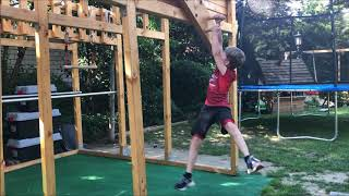 Costin Flake aus Zülpich startet bei Ninja Warrior Germany Kids