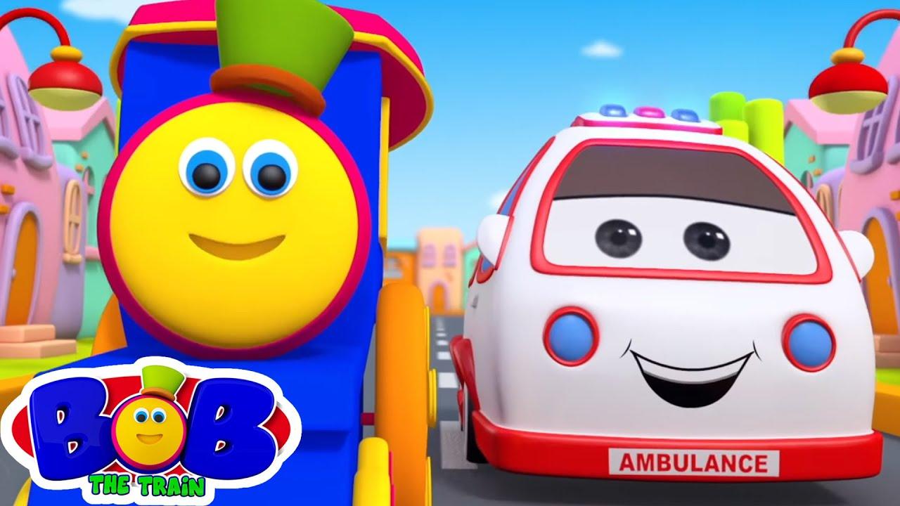 Transport Song | Vần điệu trẻ | Bài hát cho trẻ em | Bob The Train Vietnam | Thơ phổ biến