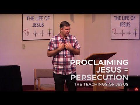 Proclaiming Jesus = Persecution - Heart Lake Baptist Church | September 5, 2021
