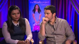 the mindy project interview with mindy kaling and chris messina