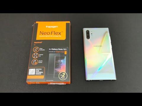 Spigen Note 10 Plus Screen Protector