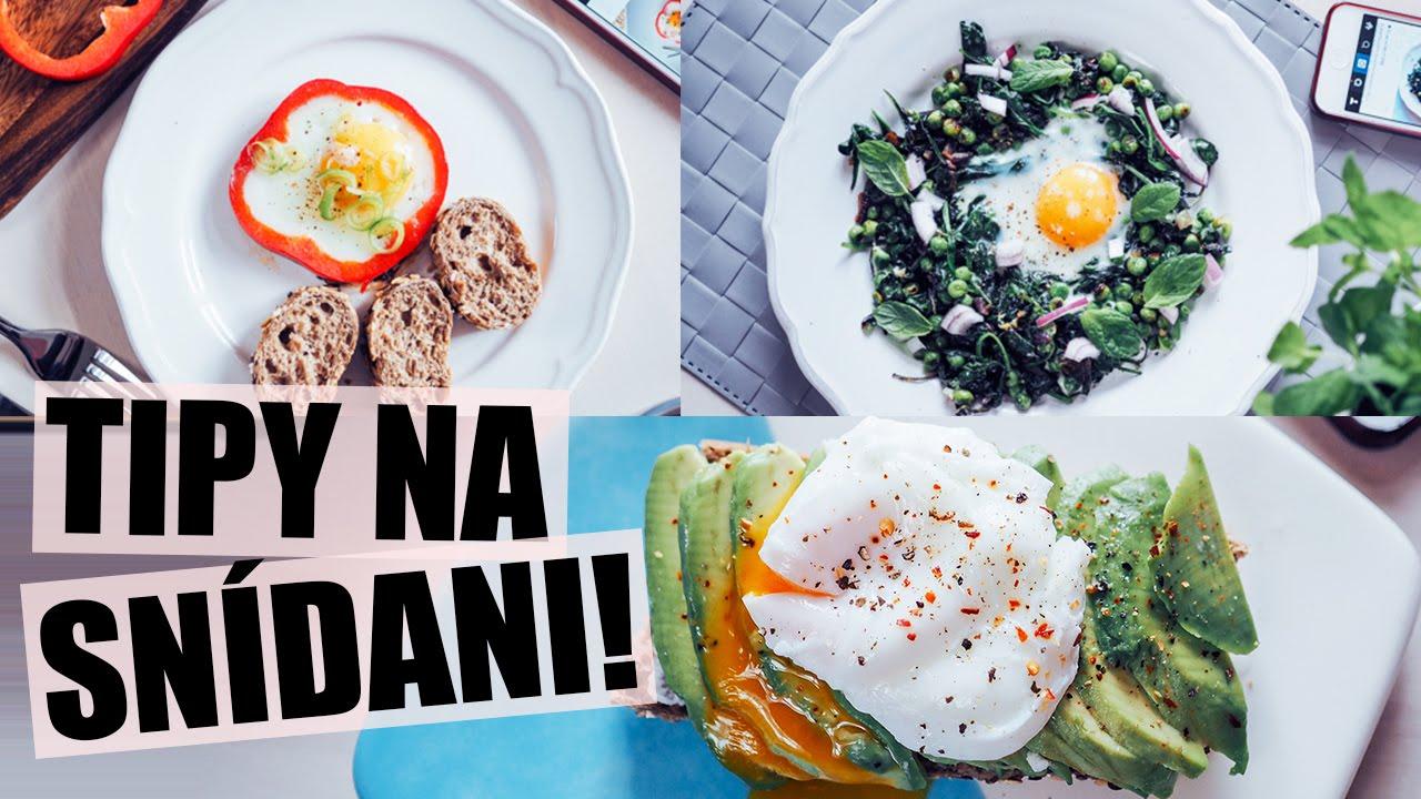 Vajíčka k snídani 3x jinak!