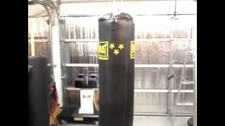 How Hang Heavy Boxing Punching Bag Ceiling Rafters