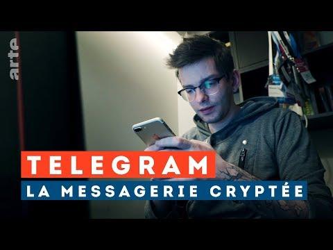 Telegram, la fabrique de (fake) news - ARTE