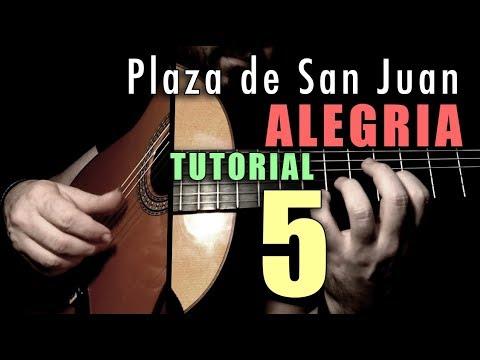 Mixed Technique Exercise - 16 -  Plaza De San Juan (Alegria) FINALE By Paco De Lucia