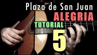Mixed Technique Exercise - 16 -  Plaza de San Juan (Alegria) FINALE by Paco de Lucia