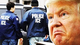 Trump Throws Fit, Threatens To Take His ICE Agents And Go Home