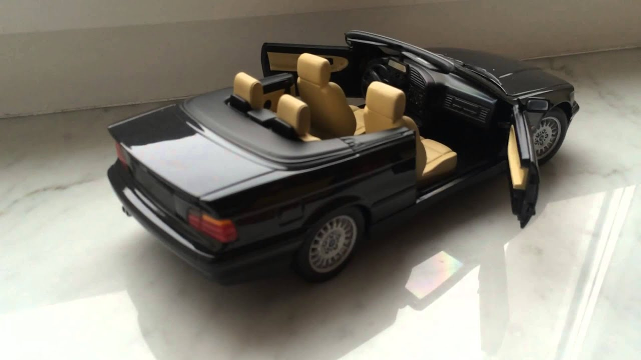 bmw 325i e36 convertible 1 18 ut models diecast model car youtube. Black Bedroom Furniture Sets. Home Design Ideas