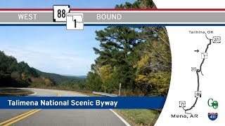 Talimena National Scenic Byway - AR-88 / OK-1 - Arkansas / Oklahoma |  Drive America's Highways 🚙