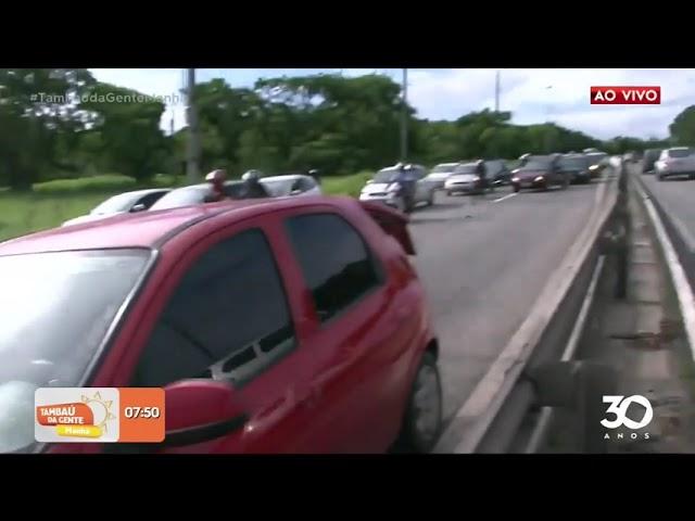 Acidente entre moto e carro deixa homens ferido na Capital- Tambaú da Gente Manhã