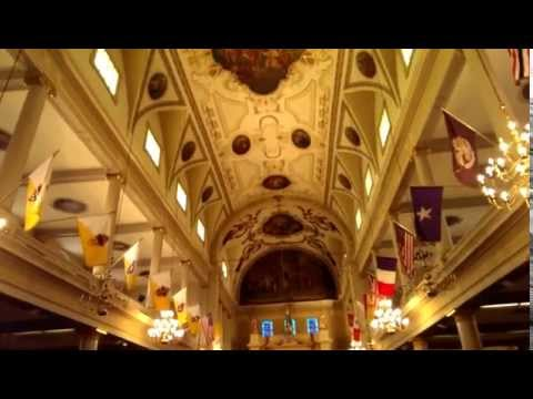 St. Louis Cathedral Inside Tour
