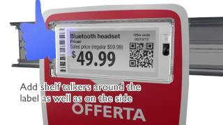 Pricer SmartTAG electronic shelf label and accessories