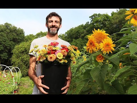 Sustainable Living: Millwood Flower Farm –  Local Ocala, Florida (Interview)
