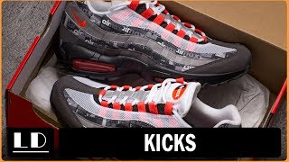 "Atmos x Air Max 95 ""We Love Nike"" Sneaker Review"
