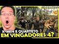 BOMBA! X-MEN E QUARTETO FANTASTICO EM VINGADORES 4?