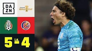 Elferkiller! Guillermo Ochoa avanciert zum Helden: Mexiko - Costa Rica 5:4 i. E. | Gold Cup | DAZN