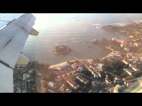 Aeropuerto Alvedro (Coruña) Embraer 195 Air Europa aterrizando