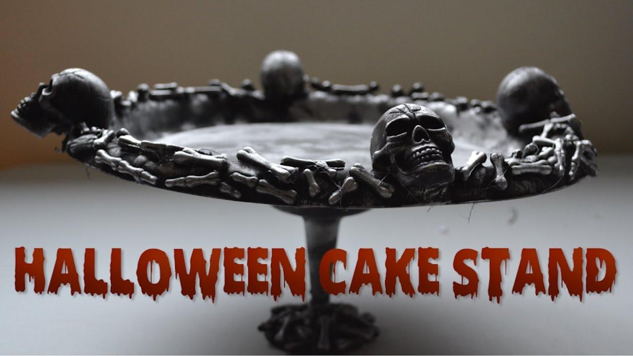 Halloween Cake Stand