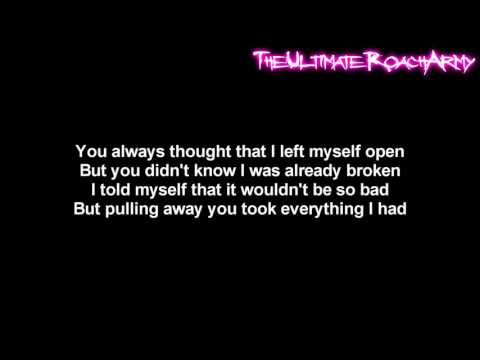 Three Days Grace  Lost In You Lyrics on screen HD