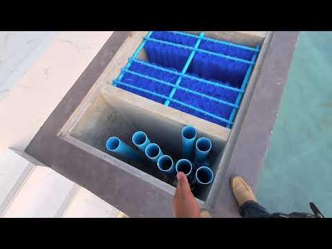 งานติดตั้งระบบกรองบ่อปลาคราฟขนาด110 ตันรวมระบบกรอง  โดย koi2u