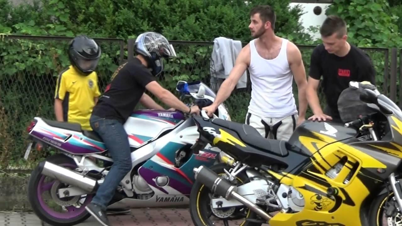 Motocykliści Z Pasją U Młodych Przyjaciół Youtube