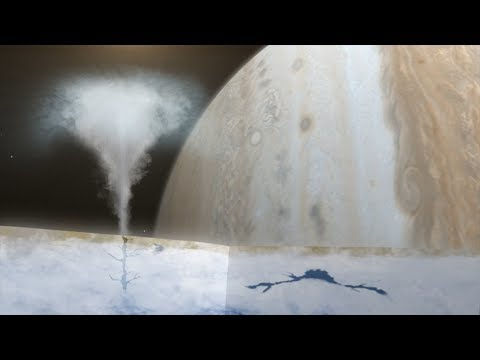 Scientists confirmed the presence of water on of one of the moons of Jupiter (Europa)