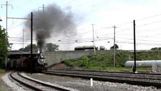 Strasburg Railroad Steam Freight June 26, 2013