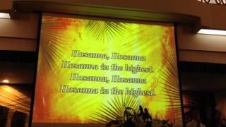 Hát vang Hô-Sa-Na - thánh ca Tin Lành- Karaoke