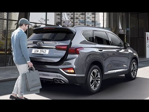 2019 hyundai santa fe elegant suv youtube. Black Bedroom Furniture Sets. Home Design Ideas