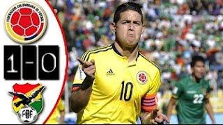 Eliminatorias mundial Rusia 2018 Colombia 1 - 0 Bolivia. Reaccionando al fútbol con mi padre
