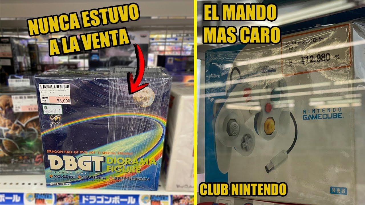 EL MANDO DE GAMECUBE MAS EXCLUSIVO + FIGURA DE DRAGON BALL MAS BUSCADA  (DIORAMA) ?   VIDEOJUEGOS