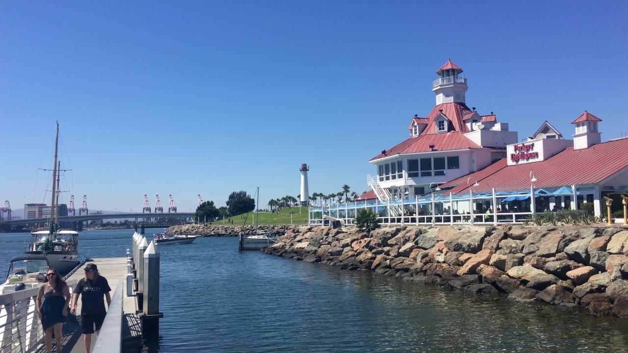 Long Beach Waterfront By Www Los