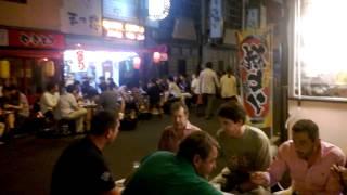 CB diner tranquille à Tokyo