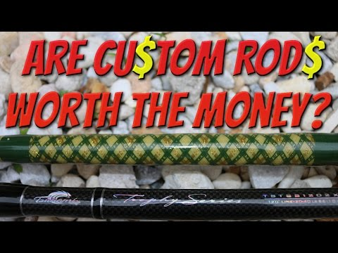 Are Custom Rod's Worth The Money? Ft. JunoRyan (Tackle Tuesday #18)