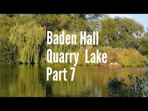 Summer Carp Fishing . The Search For A UK Day Ticket  40. Baden Hall Quarry Lake. Part 7