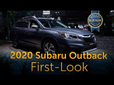 2020 Subaru Outback - First Look