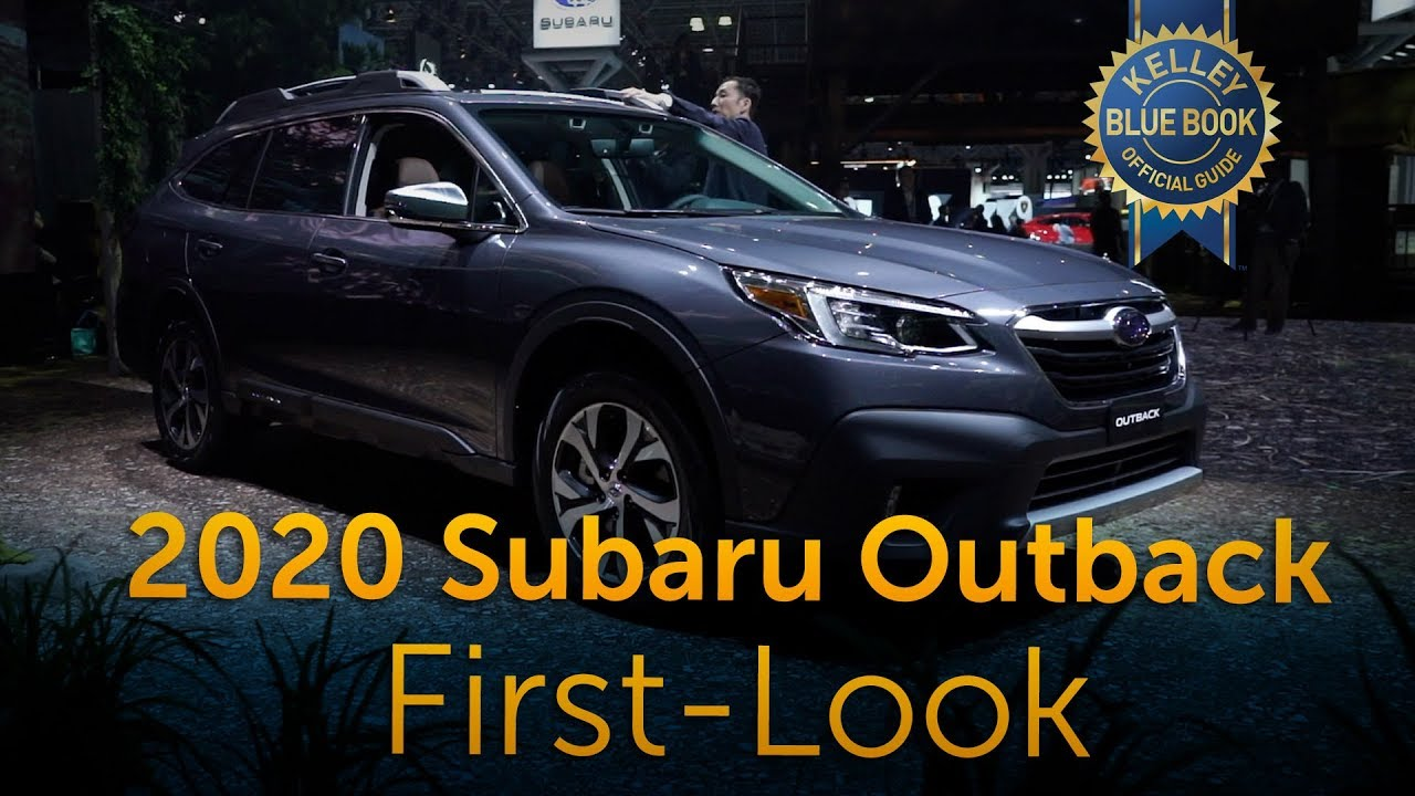 2020 Subaru Outback First Look Youtube