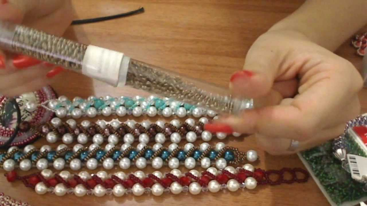 Conosciuto creazioni bracciali perle e perline - spirali ed embroidery  FS24
