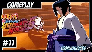 "Naruto Shippuden Ultimate Ninja 5 GamePlay#11 PT-BR ""Sasuke Vs Orochimaru"" [PS2]【Full HD 60 FPS】"