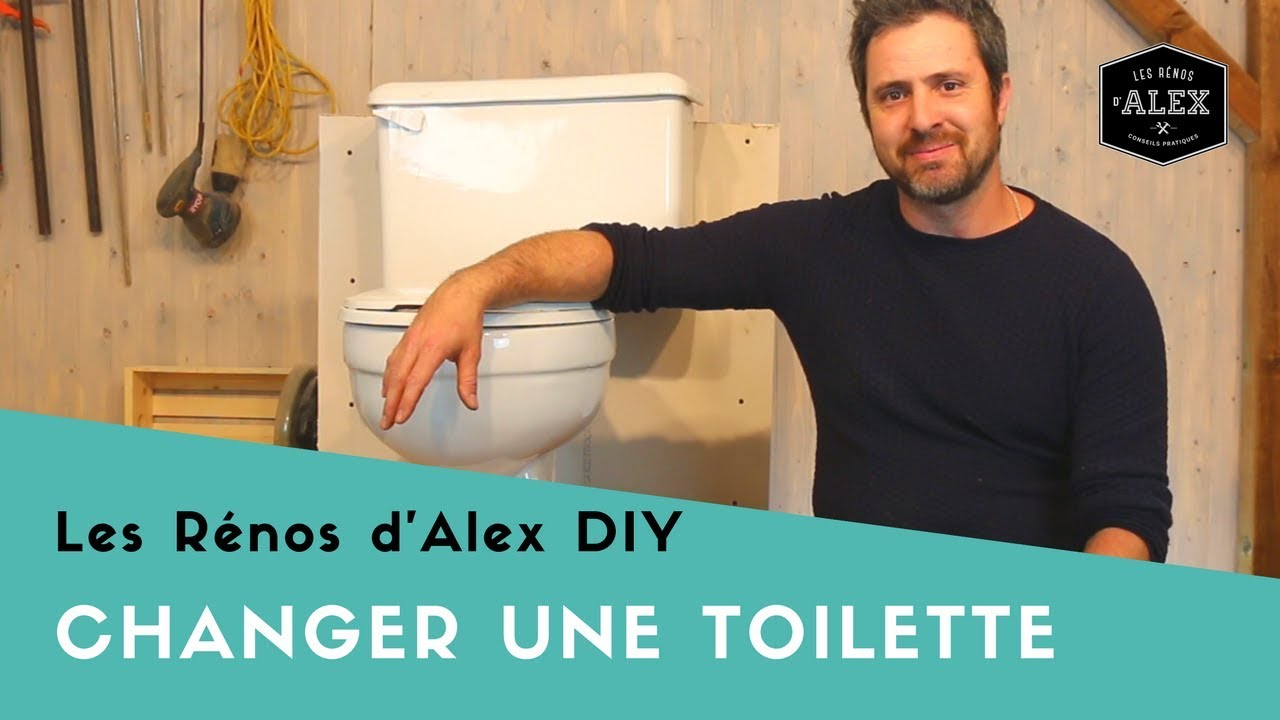Un Toilette Ou Une Toilette changer une toilette (cabinet) avec alex!