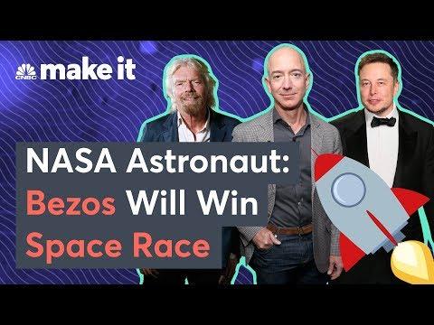 NASA Astronaut: Bezos Will Beat Musk In Space Race