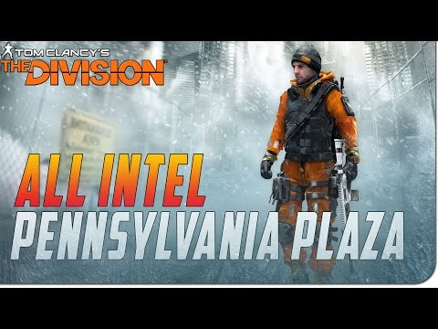 The Division: All Intel Locations Pennsylvania Plaza!