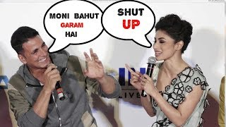 Akshy kumar Making Fun Of Mouni Roy Gold Pramotion