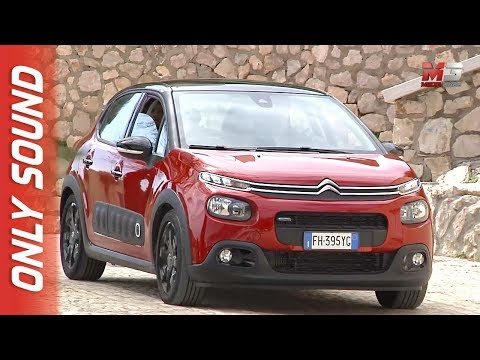 NEW CITROEN C3 2018 - SPERLONGA - FIRST TEST DRIVE ONLY SOUND