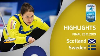 HIGHLIGHTS: Scotland v Sweden – women's final – Le...