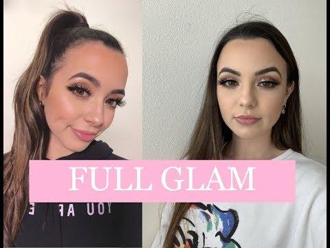 Full Glam Routine (Boujee Week) - Merrell Twins
