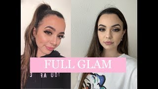 Full Glam Routine (Boujee Week) - Merrell Twins