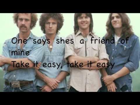 Take it easy-Eagles with lyrics